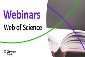 Вебінари Web of Science: 12-14 травня